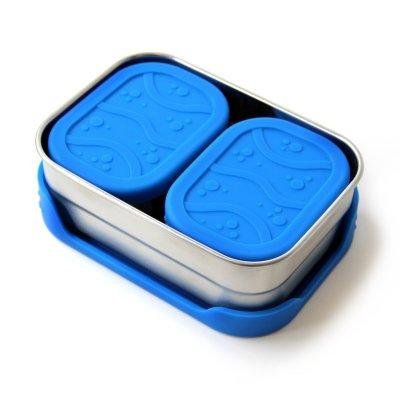 ecolunchbox splashbox - rvs splash box - lekvrije lunchbox – rvs broodtrommel
