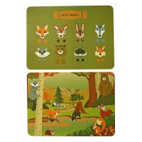 placemat kind - The Zoo kinder placemat - leuke placemats - kinderplacemats