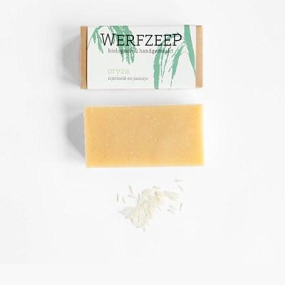 biologische zeep oryza - ambachtelijke zeep – natuurlijke zeep – handgemaakte zeep