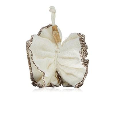 bamboe spons - puff spons - natuurlijke spons - zachte spons - douchepuff