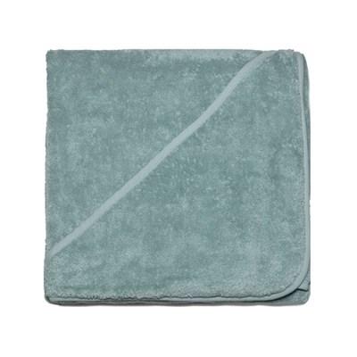 groene omslagdoek - omslagdoek groen - badcape groen – baby badcape