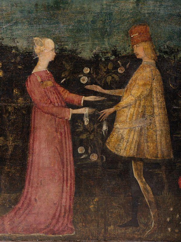 Cerchia di Antonio Pisano detto Pisanello primo quarto del sec XV  MOBILI ED OGGETTI DARTE