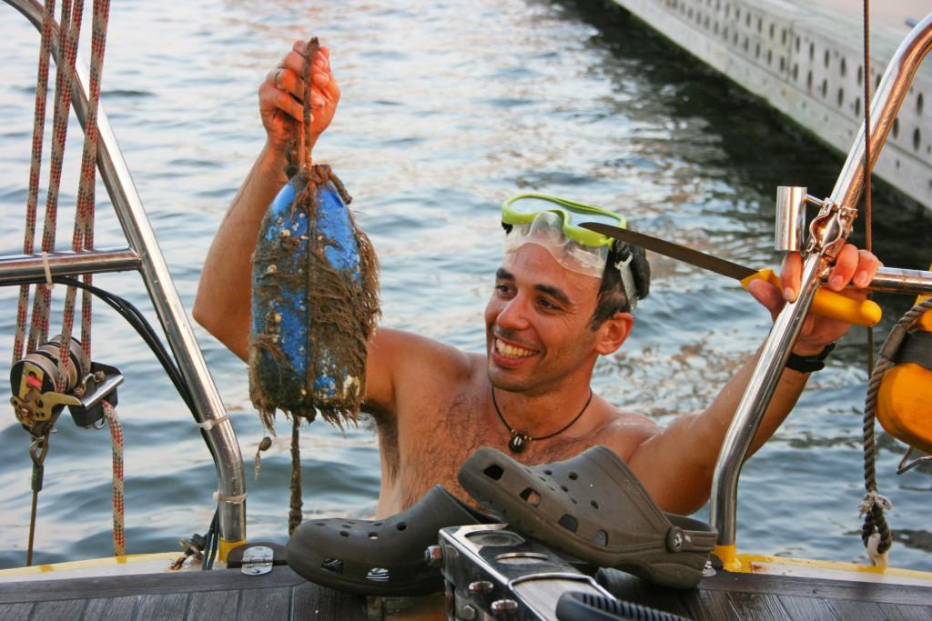 """La """"pêche"""" aux orins dans l'hélice continue..."""