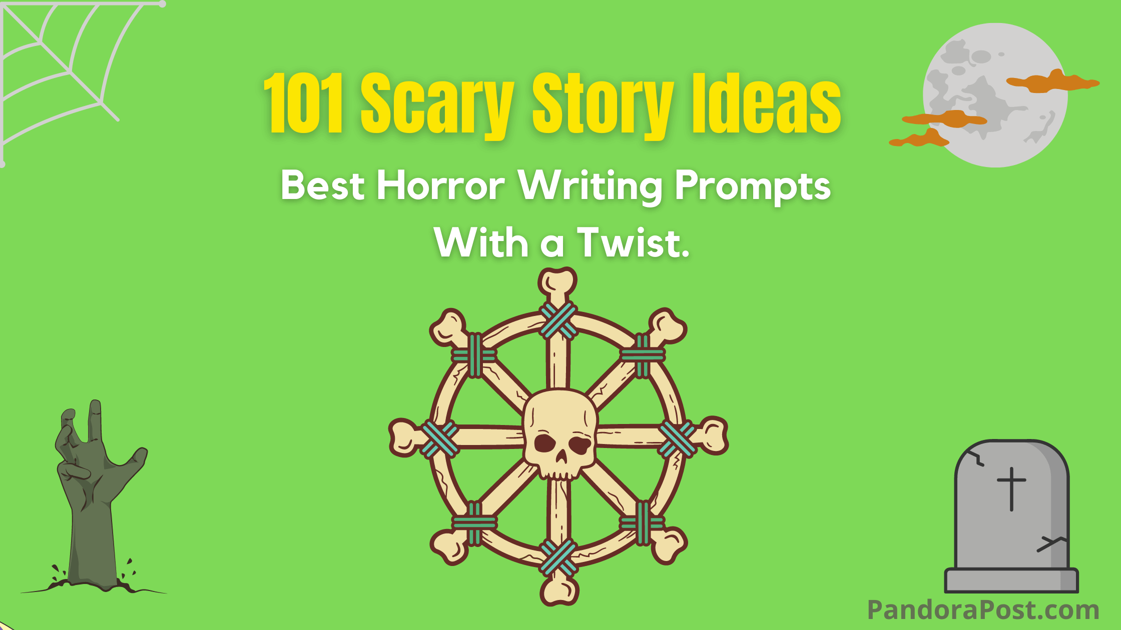 101 Best Horror Writing Prompts (Scary Story Ideas With a Twist)