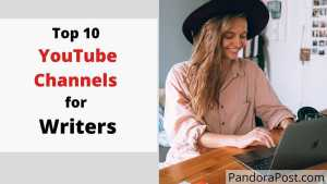 Read more about the article Top 10 Best YouTube Channels for (Creative) Writers