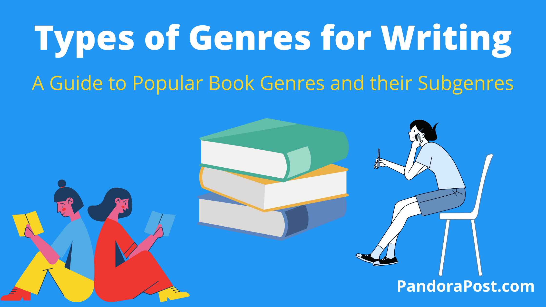 Types of Genres for Writing: A Guide to Popular Book Genres and Subgenres
