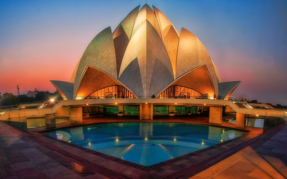 the lotus temple a