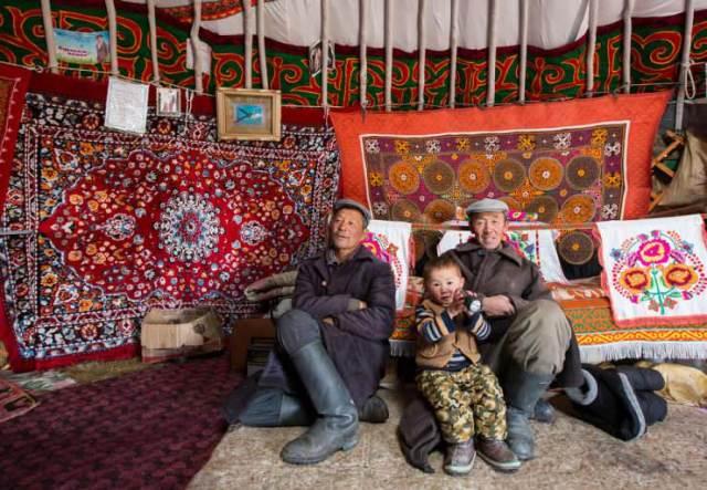 Inside a Ger in western Mongolia © Katiekk | Shutterstock, Inc.