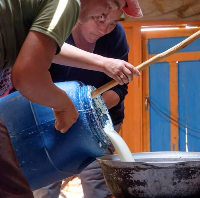 Preparation of Airag, fermented Mare's Milk © Emily Marie Wilson | Shutterstock.com