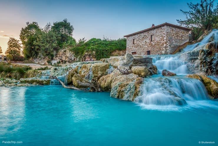 Cascate del Mulino، Saturnia، Tuscany، Italy