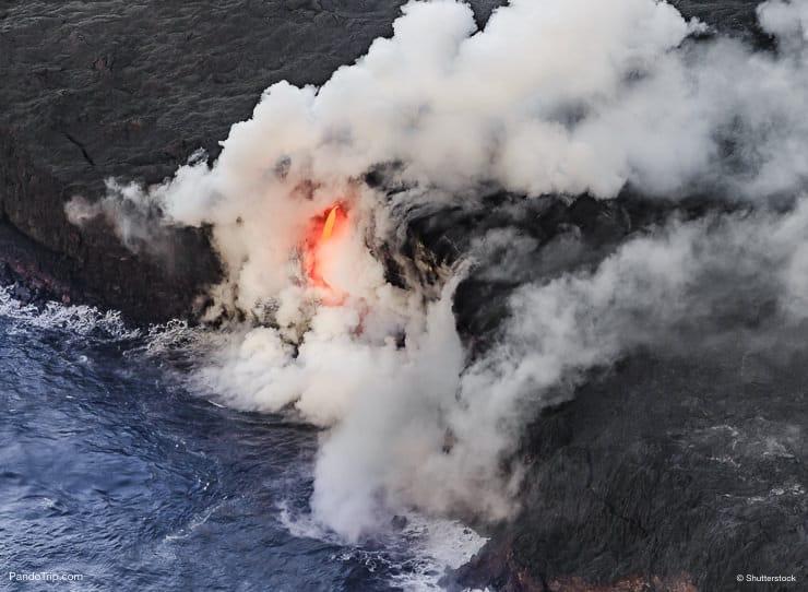 Kilauea Volcano, Hawaii Volcanoes National Park, Hawaii