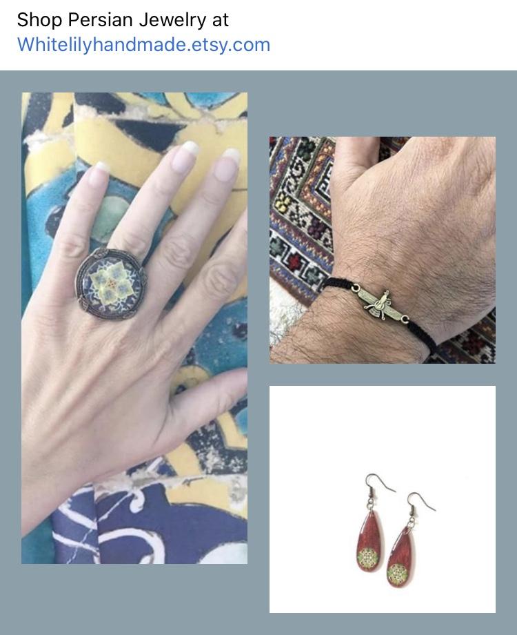 Persian Jewelry : persian, jewelry, White, Handmade, Persian, Jewelry, Settlement, Services