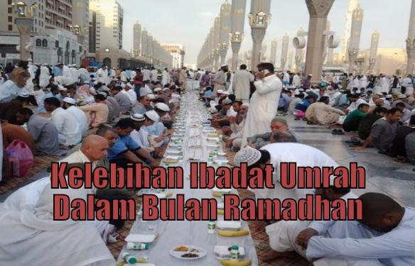 Kelebihan Ibadat Umrah Dalam Bulan Ramadhan