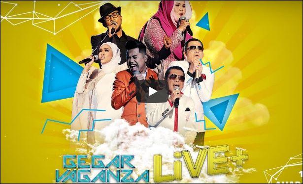Siaran Langsung Live streaming Final Gegar Vaganza 2017 Musim 4 Astro