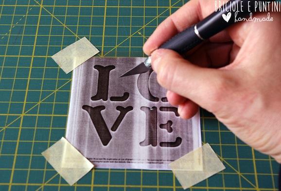 stencil fai da te - tutorial 1
