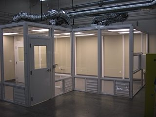 Modular Cleanrooms  Prefab ISO Cleanroom Walls  Panel Built