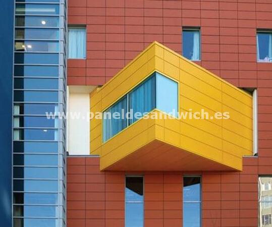 Panel Sandwich Fachada Arquitectónico