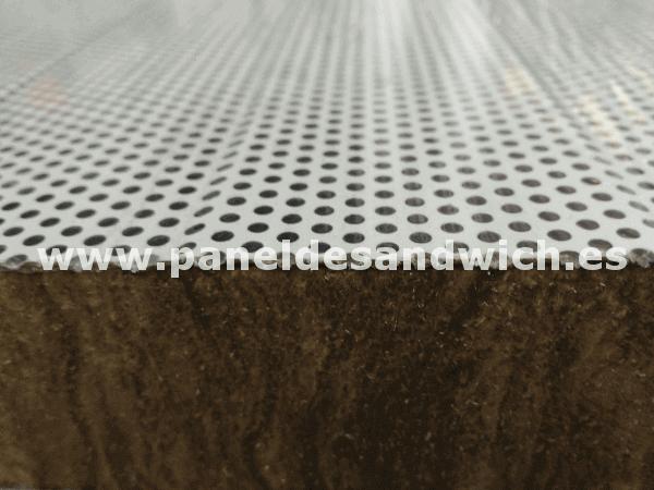 panel acustico lana de roca