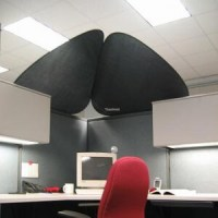 A Shady Cubicle Accessory - OBEX Panel Extenders