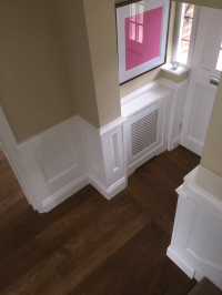 Staircase Wall Panelling   Panelling for Staircases   UK ...