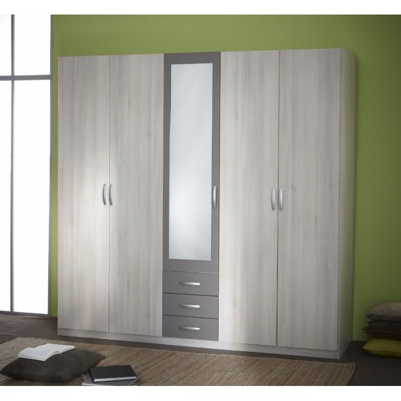 Armoire Penderierangement moderne 5portes  Panel Meuble  Magasin de meubles en ligne