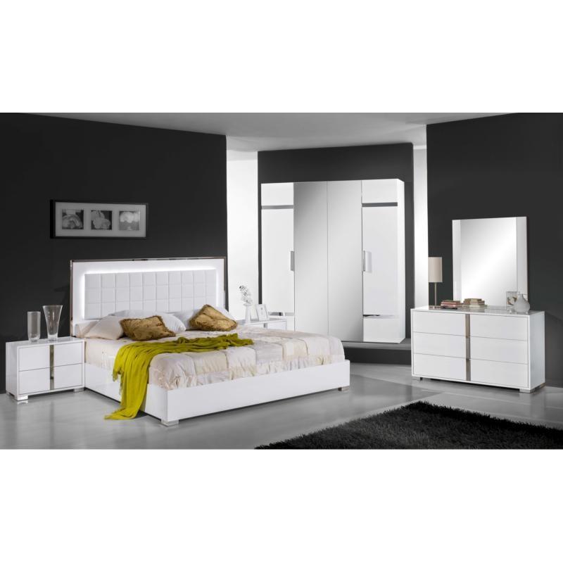 Chambre  Coucher Complte Design Moderne  Panel Meuble  Magasin de meubles en ligne