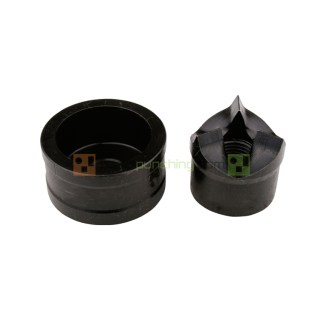 """Alfra 1"""" Conduit Tricut Round Knockout Punch And Die Set"""