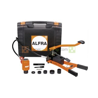 Alfra AEP-1 Hydraulic Knockout Punching Tool With Foot Pump