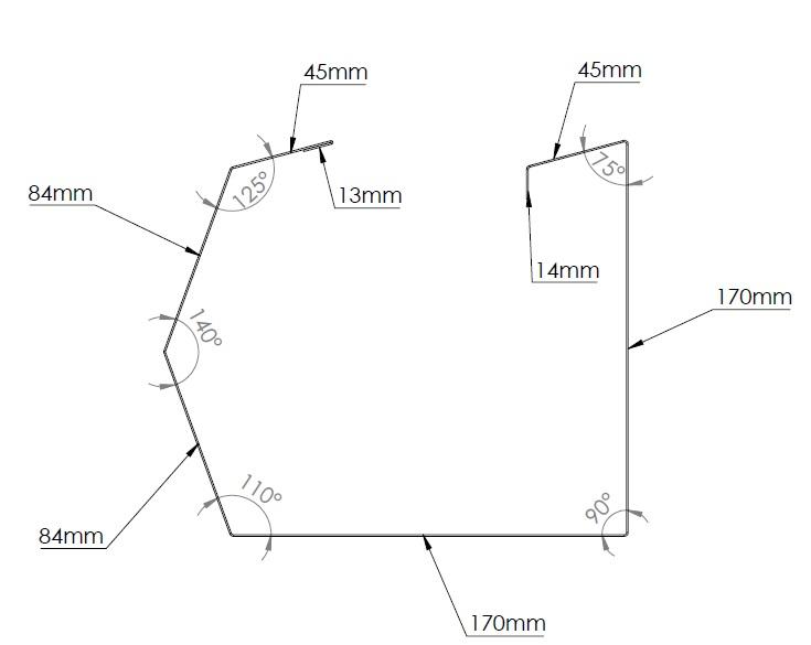 trimline gutter diagram