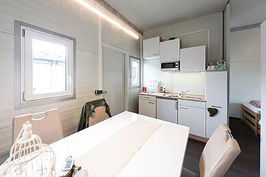 Anschlussfertige Wohncontainer kaufen  panel sell