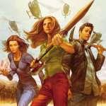 TL;DR: Buffy Season 8, volumes 1 - 7