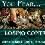 Marvel 'Fear' Press Conference, Today at 12 PM EST!