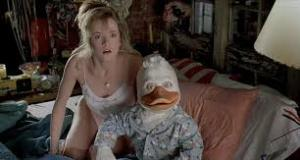 First Lea Thompson tried to get with her future son, then she shared a bed with an anthropomorphic waterfowl. And people wonder why she's not a bigger star today.