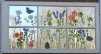 Panes of Art, Barn Quilts, Hand Painted Windows, Window