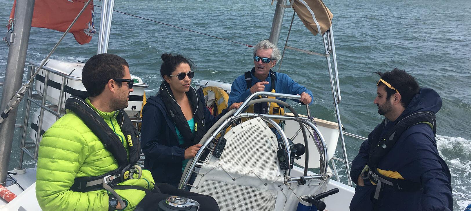 Latitude 38 aboard Sea Dragon | San Francisco