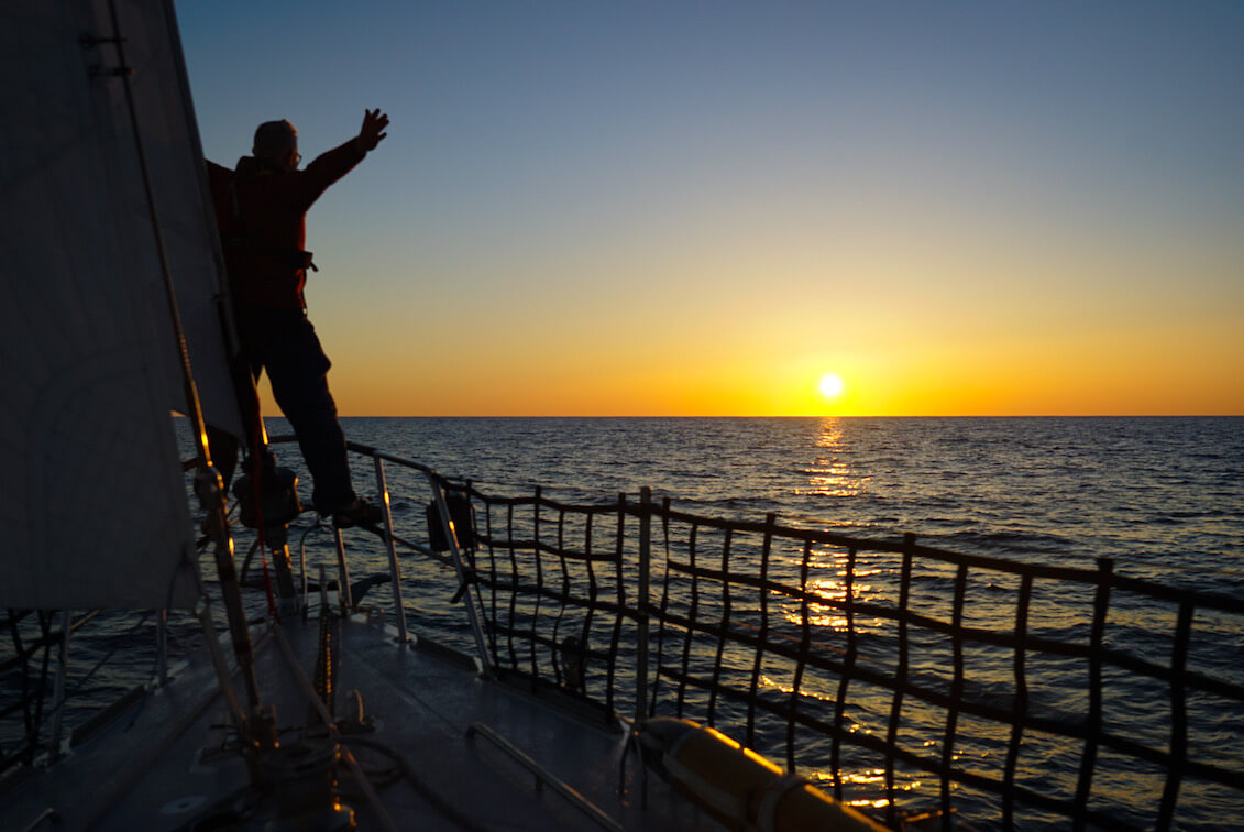 At Sea Again!