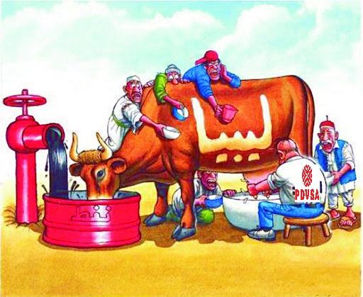 vaca petrolera