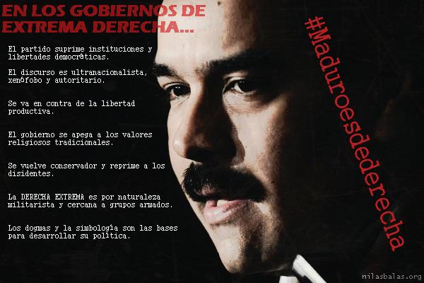 Maduro es derecha venezuela
