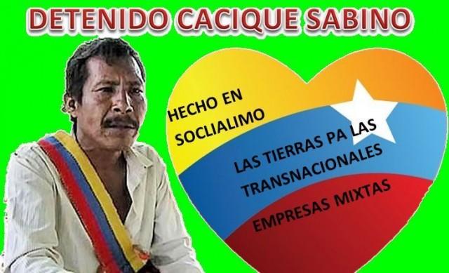 SABINO DETENIDO SOCIALISMO XXI