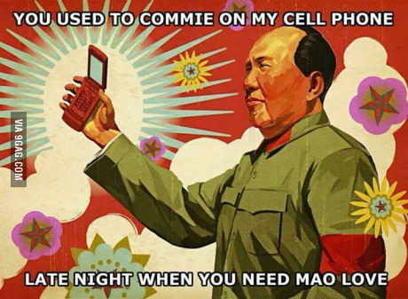 Commie on my cellphone