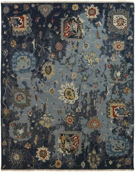 comteporary wool rug