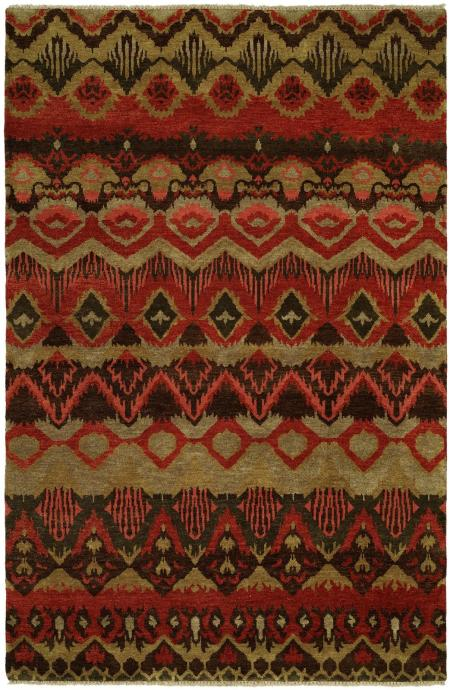 Rusty Red area rug
