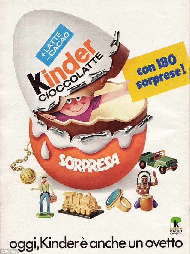 Iklan Kinder Easter egg