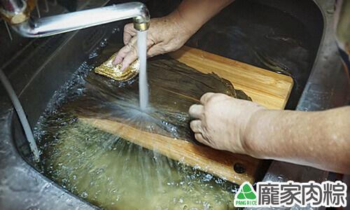 如何清洗粽葉