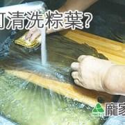 15-00包粽子正確清洗粽葉教學影片教學(肉粽知識推薦)