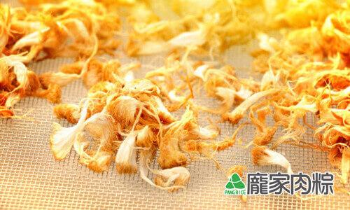 123-03八大山珍之一,猴頭菇滷至入味包入肉粽