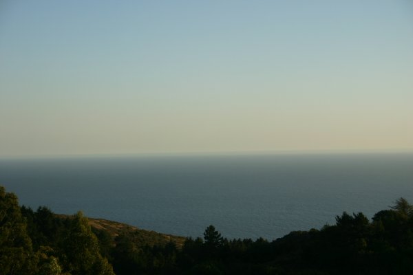 View of the sea at Stinson