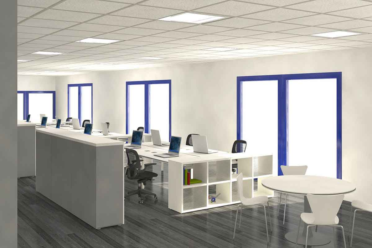 Interesting Interior Design Ideas Small Office Space Hpni On Office Interior Design Panic Button Tech