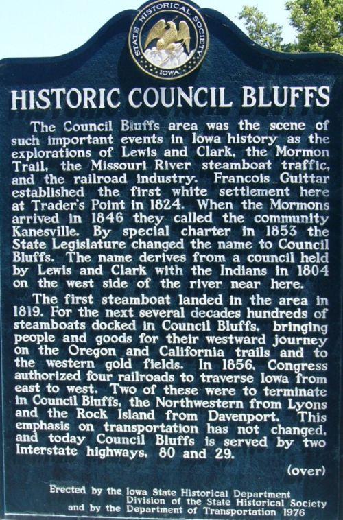 Historic_Council_Bluffs_Marker,_side_a