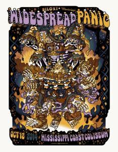 Widespread Panic - 10/12/2014 - Biloxi, MS